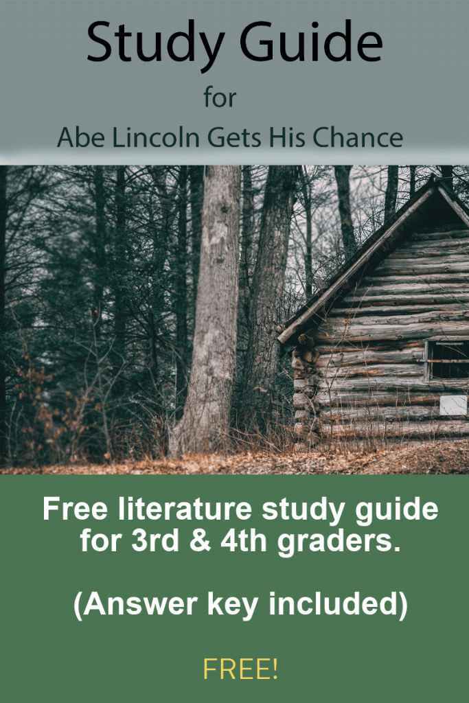 Download your free workbook and study guide for Abe Lincoln Gets His Chance