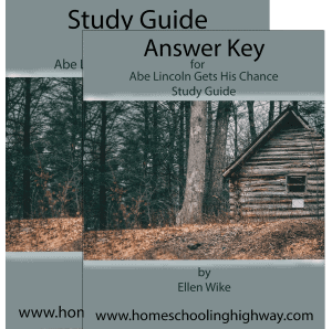 Free workbook and answer key to go along with Abe Lincoln Gets His Chance