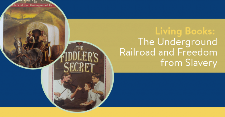 Living Books: Underground Railroad and Freedom from Slavery