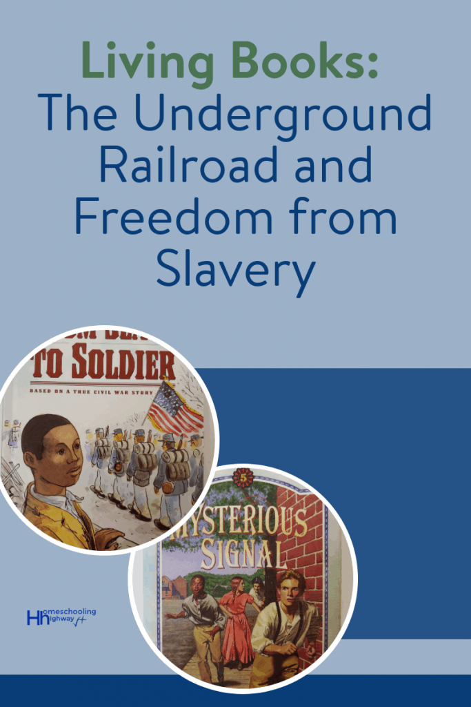 Living book summaries that have been written about the underground railroad and freedom from slavery
