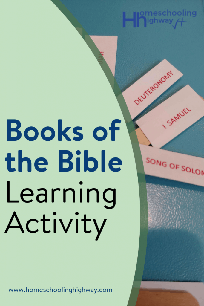Use popsicle sticks to learn the Books of the Bible with this fun learning activity.