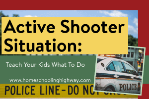 Teach your kids what to do in an active shooter situation
