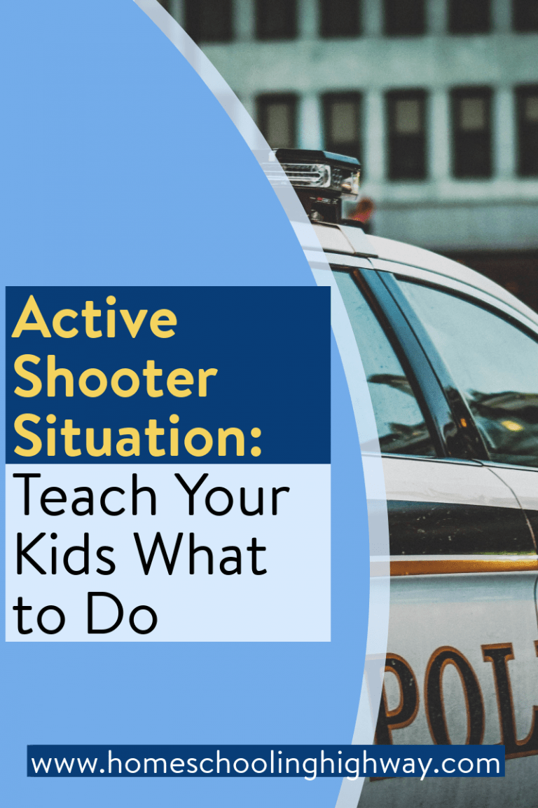 Teach your kids what to do in an active shooter event