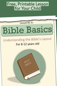 Bible lesson for kids