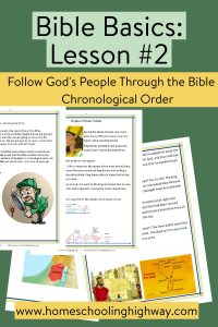 Follow God's people through the Bible with this easy to read workbook.