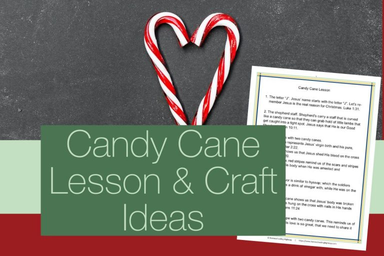 Candy Cane Lesson and Craft Ideas for Your Homeschool