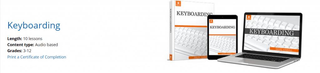 keyboarding class information on schoolhouseteachers.com