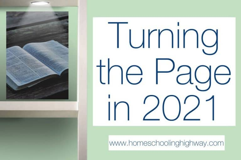 Turning the Page into 2021