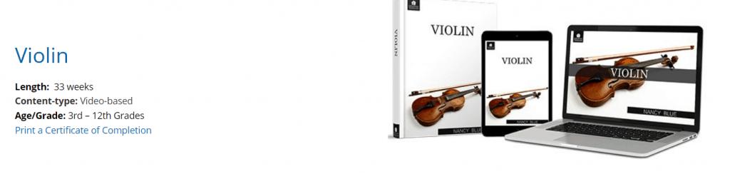 SchoolhouseTeachers.com Violin class cover image