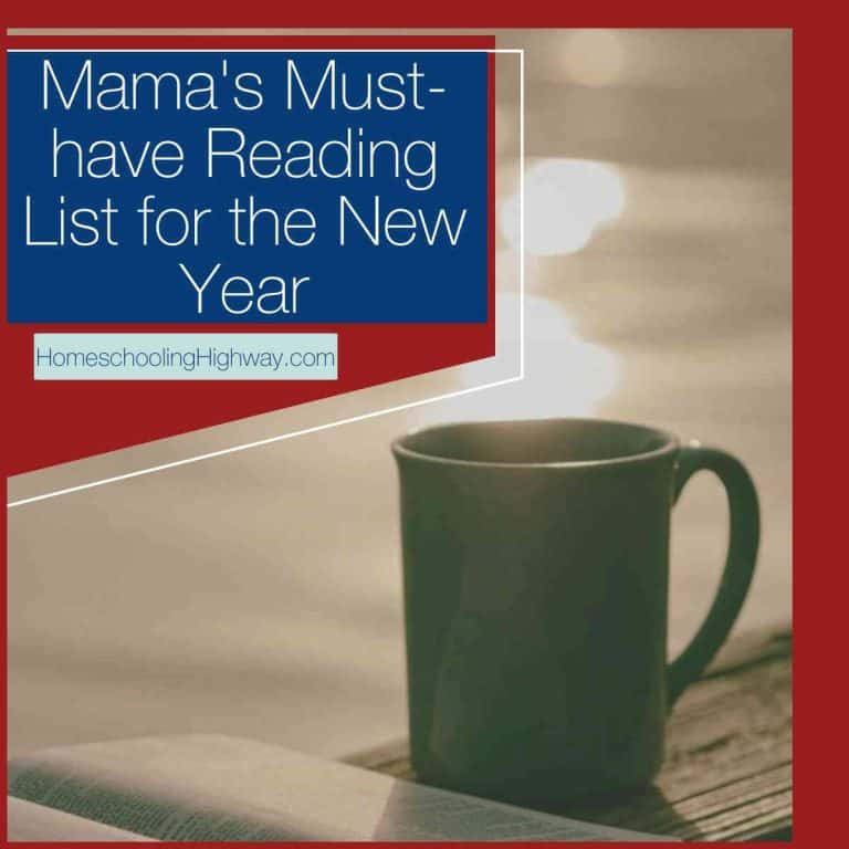 Mama's Must-have Reading List for the New Year