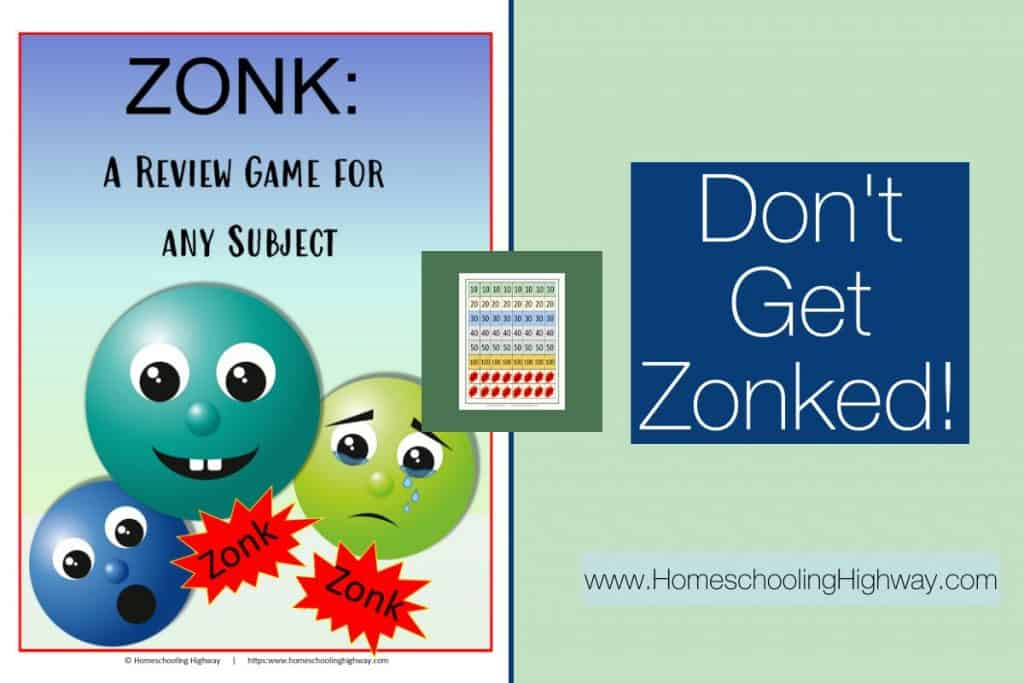 Don't get zonked with this review game for kids