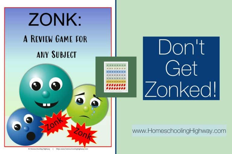 Zonk: A Review Game for any Subject