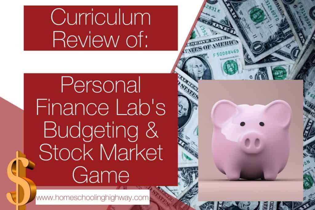 Budget and Stock market game Review. Game created by Personal Finance Lab.