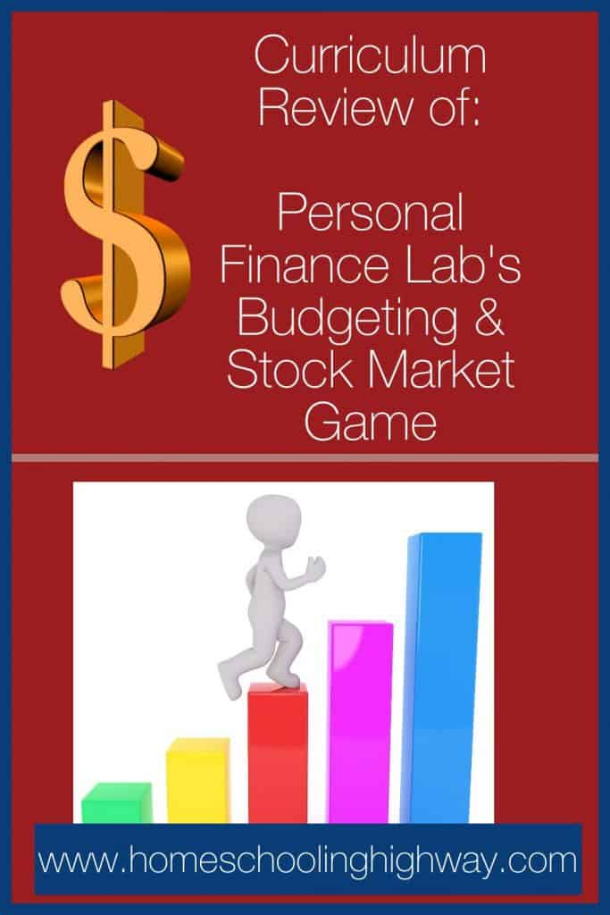 Review of the Budgeting and Stock Market Game created by Personal Finance Lab.