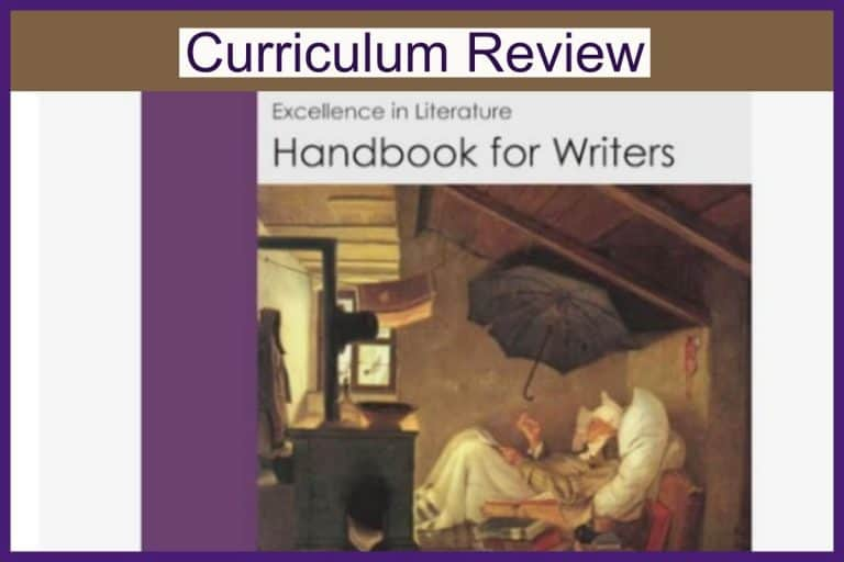 Curriculum Review: Excellence in Literature Handbook for Writers by EverydayEducation.com
