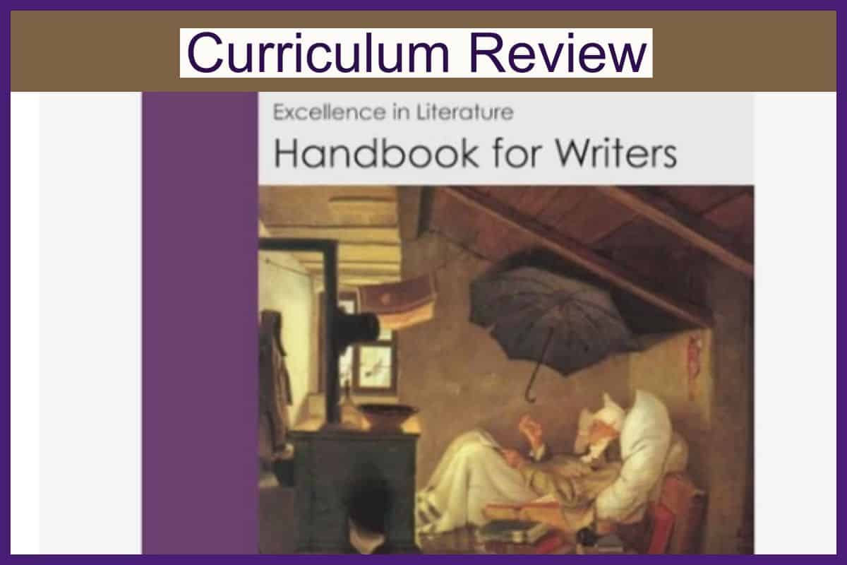 Review of Excellence in Literature Handbook for Writers by Everyday Education