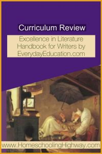 Review of Excellence in Literature Handbook for Writers