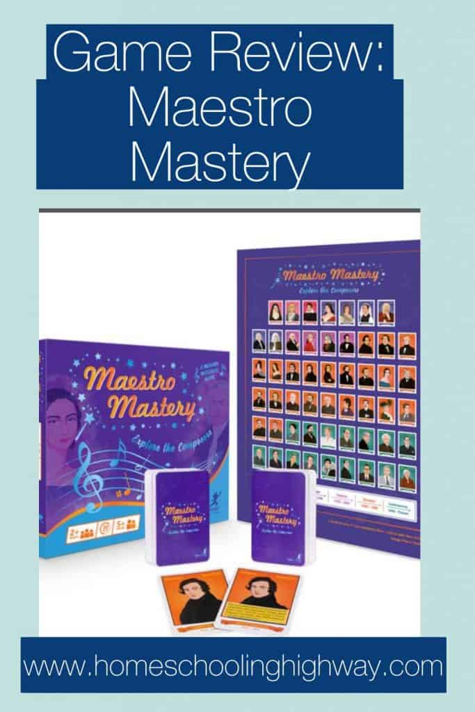 Explore the Composers with this game from Byron's Games called Maestro Mastery