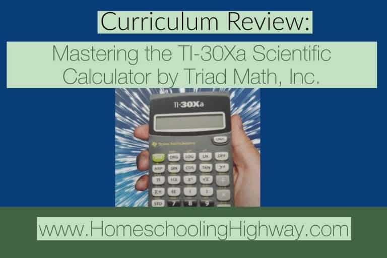 Curriculum Review: Mastering the TI-30Xa Scientific Calculator: Augmented Intelligence for all 21st Century Students