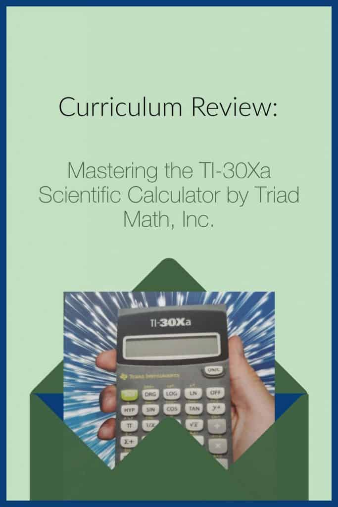 Curriculum Review of Mastering the TI-30Xa Scientific Calculator