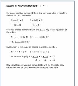 Mastering the TI-30Xa lesson 4