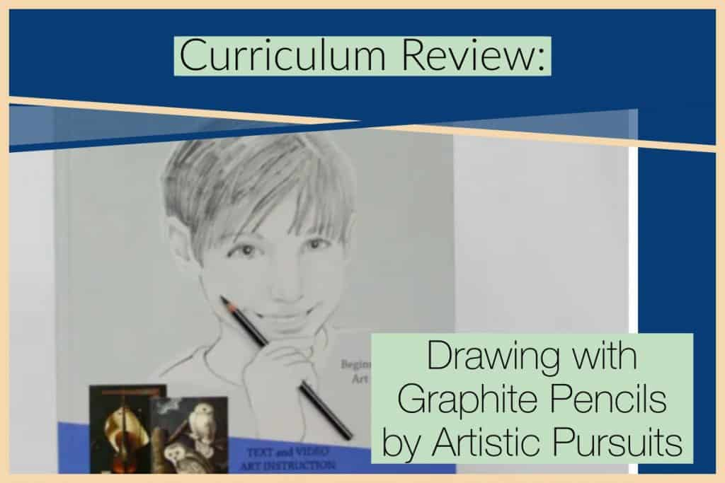 Drawing with Graphite Pencils from ARTistic Pursuits Blog post image