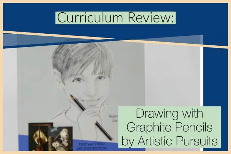 Curriculum Review: Drawing with Graphite Pencils, Beginning Level from ARTistic Pursuits