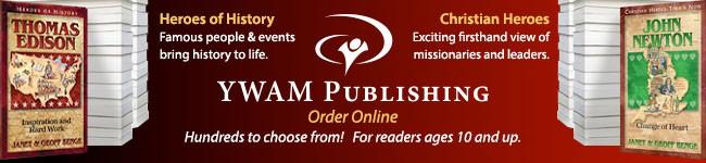 YWAM publishing banner