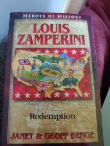 Book Cover Heroes of History Louis Zamerini: Redemption