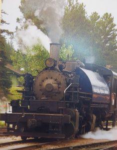1880 Steam Train in South Dakota