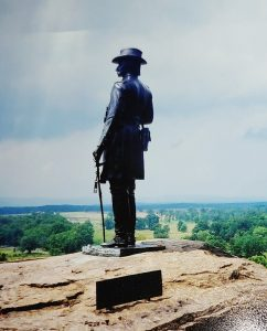 Warren monument at Gettysburg