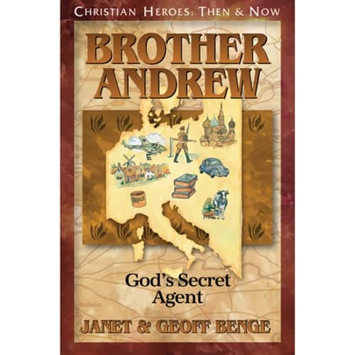 Brother Andrew book cover from YWAM Publishing