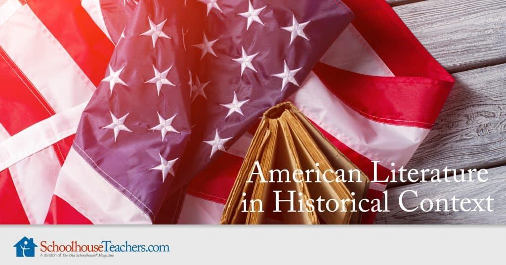 American history literature class from schoolhouseteachers.com