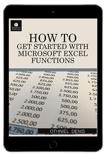 How to get started with Microsoft Excel Function from schoolhouseteachers.com
