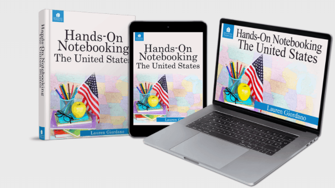 Hands On Notebooking Class: The United States from SchoolhouseTeachers.com