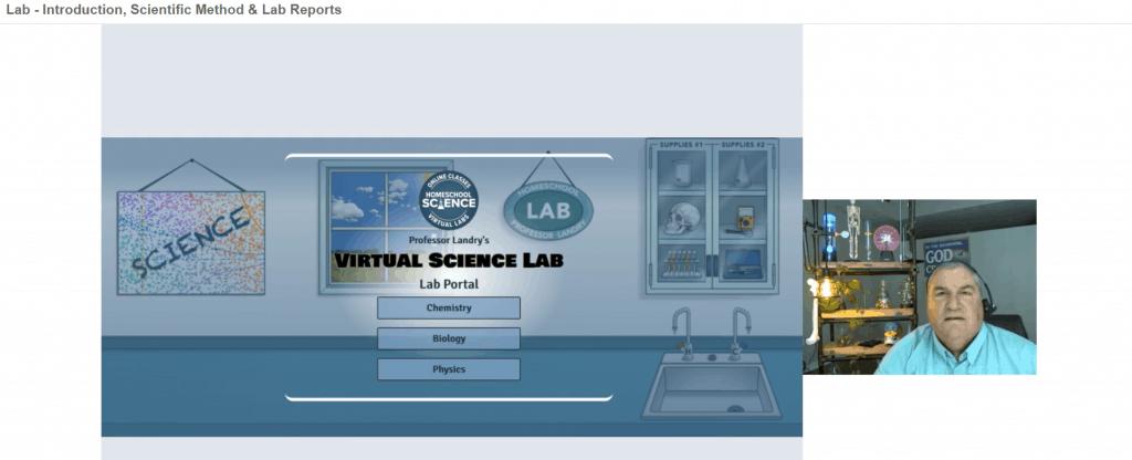 Greg Landry's Homeschool Science Lab homepage