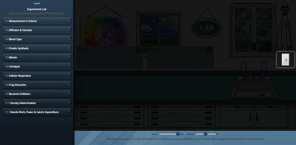 Virtual lab starting for Greg Landry's science