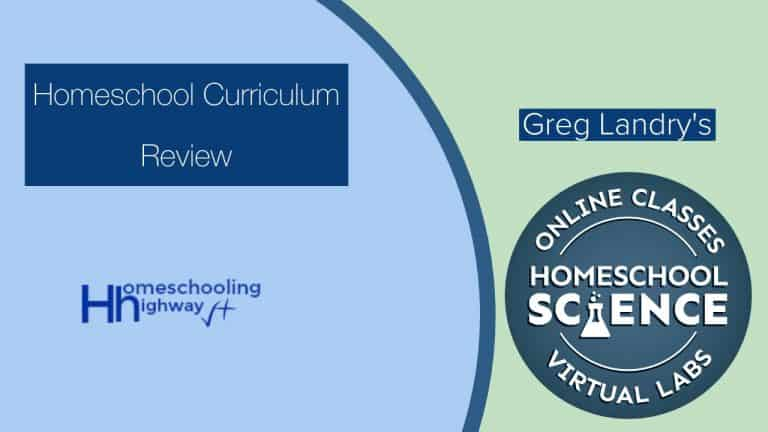 Curriculum Review: Greg Landry's Homeschool Virtual Science Lab