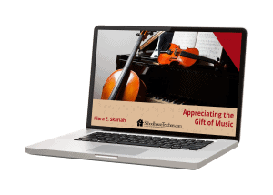 Appreciating the gift of music