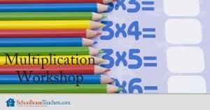 Multiplication Workshop from SchoolhouseTeachers.com