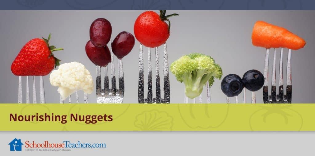 Nourishing Nuggets class from SchoolhouseTeachers.com