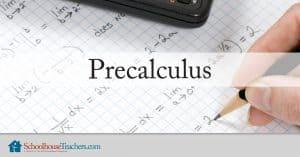 Precalculus from Schoolhouseteachers.com
