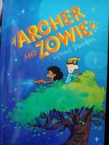 Book cover image of Hans Bluedorn's book called Archer and Zowie.