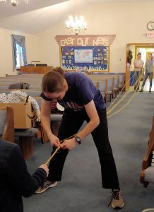 Volunteering at church