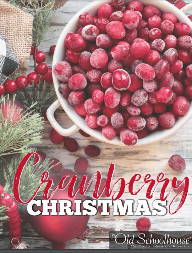 Cranberry Christmas unit study from SchoolhouseTeachers.com