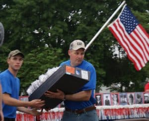 Volunteering for church parade
