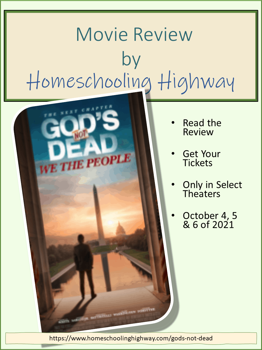God's Not Dead: We the People. Movie Review by Homeschooling Highway.