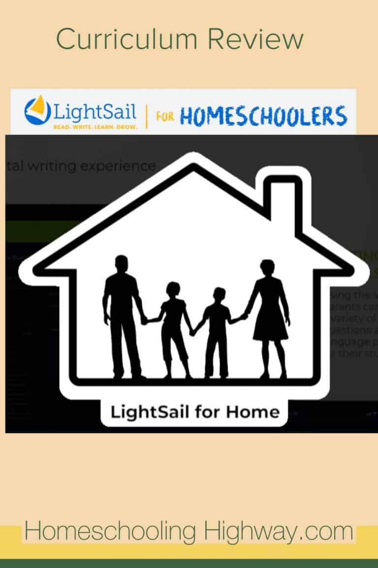 LightSail for Homeschoolers: A Language Arts Curriculum Review